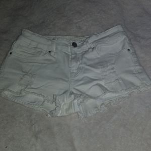 PacSun White Low-rise Shorts